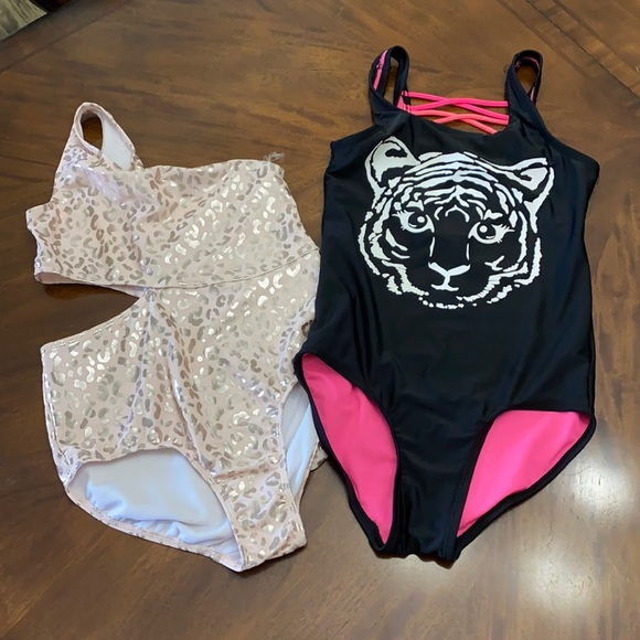 Used but great condition one piece bathing suits